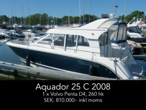 Aquador 25 C 2008