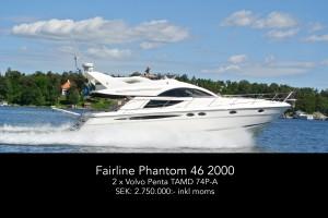 Fairline Phantom 46 2000