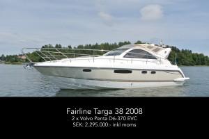Fairline Targa 38 2008