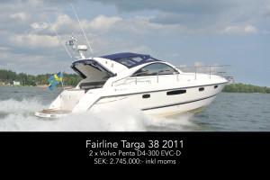Fairline Targa 38 2011