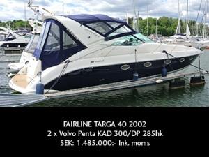 Fairline Targa 40 2002