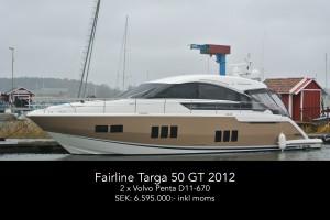 Fairline Targa 50 GT 2012