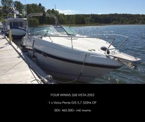 Four Winns 268 Vista 2003