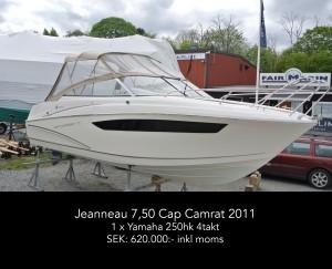 Jeanneau 7,50 Cap Camrat 2011