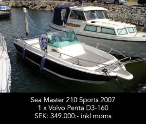 Sea Master 210 Sports 2007