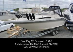 Sea Ray 25 Sorrento 1988