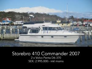Storebro 410 Commander 2007