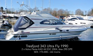 Tresfjord 343 Ultra Fly 1990